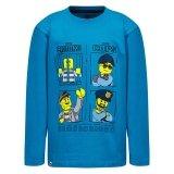 LEGO T-shirt BLAUW (M-72213 Maat 122)