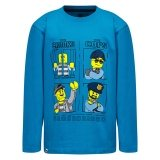 LEGO T-shirt BLAUW (M-72213 Maat 140)