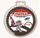 MAYKA Toy Block Tape 2-nop 1 meter ZWART