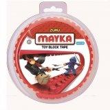 MAYKA Toy Block Tape 2-nop 1 meter ROOD