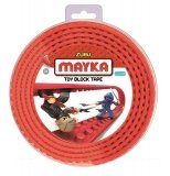 MAYKA Toy Block Tape 4-nop 2 meter ROOD