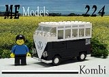ME Models 224 VW Bus ZWART