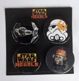 Star Wars Rebel Buttons