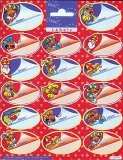 Stickervel 17 Sinterklaas Naamstickers