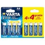 VARTA Alkaline Batterij AA (4+4 Gratis)