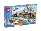 LEGO 7726 Kustwachttruck met Speedboot