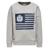 LEGO Sweater LICHTGRIJS (Saxton 301 Maat 116)