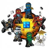 LEGO LED Nachtlamp Ninjago Sky Pirates