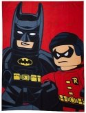 LEGO Fleece Deken Batman en Robin