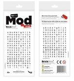 BrickStix Mod Letters