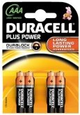 DURACELL Plus Power AAA MN2400 (4 pcs)
