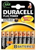 DURACELL Plus Power AAA MN2400 (8 stuks)