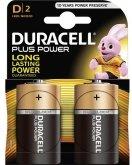 DURACELL Plus Power MN1300: D (2 stuks)