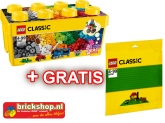 LEGO 10696 Building Blocks + Free Base Plate
