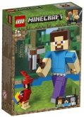 LEGO 21148 Minecraft BigFig Steve with Parrot
