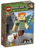 LEGO 21149 Minecraft BigFig Alex With Chicken