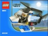 LEGO 30014 Mini Politiehelicopter (Polybag)