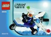 LEGO 30018 Politie Microlight (Polybag)