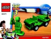 LEGO 30071 Toy Story Soldaat en Jeep (Polybag)
