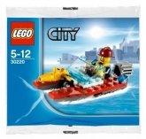 LEGO 30220 Brandweer Speedboot (Polybag)