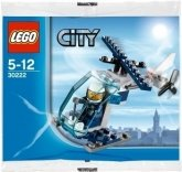 LEGO 30222 Mini Politiehelicopter (Polybag)