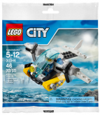 LEGO 30346 Gevangenis Eiland Helicopter (Polybag)