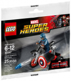 LEGO 30447 Captain America's Motorcycle (Polybag)