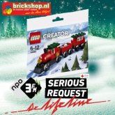 LEGO 30543 Serious Request Lifeline Kersttrein (Polybag)