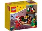 LEGO 40125 Kerstman op Bezoek BESCHADIGD