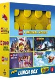 LEGO 4 Original Movies + Lunchbox