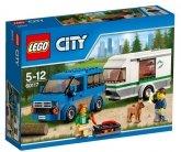 LEGO 60117 Busje met Caravan