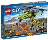 LEGO 60123 Vulkaan Bevoorradingshelikopter