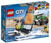 LEGO 60149 4x4 met Catamaran