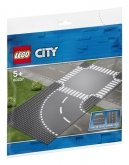 LEGO 60237 Curved & Crossroad Road