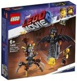 LEGO 70836 Gevechtsklare Batman en Metaalbaard