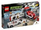 LEGO 75876 Porsche 919 Hybrid en 917K pitstraat