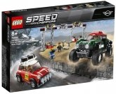 LEGO 75894 Mini Cooper S Rally en MINI John Cooper Works Buggy