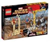LEGO 76037 Rhino and Sandman Supervillain Team