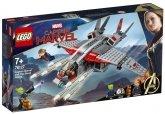 LEGO 76127 Captain Marvel de aanval van de Skrulls