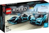 LEGO 76898 Formula E Panasonic Jaguar Racing GEN2 car & Jaguar I