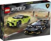 LEGO 76899 Lamborghini Urus ST-X & Lamborghini Huracán Super Tro