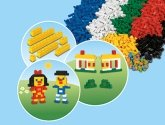 LEGO 9384 Bulk Stenen Set