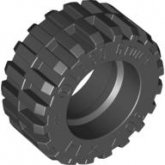 LEGO Tire 30.4Dx14 Normal BLACK (100 pieces)
