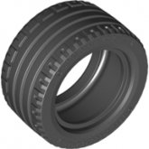 LEGO Tire 43.2Dx22 Normal ZR BLACK (100 pieces)