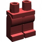 LEGO Legs DARK RED (100 pcs)