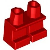 LEGO Legs Short RED (10 pcs)