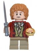 LEGO Bilbo Baggins - Donkerrode Jas (LOR030)