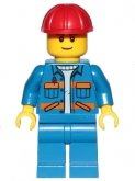 LEGO Construction Worker (CTY0889)