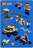 LEGO City Jungle Stickervel 2017 GRATIS