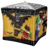 LEGO Cubez Foil Balloon The Batman Movie